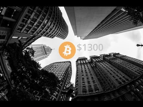 Bitcoin looking to test $1300
