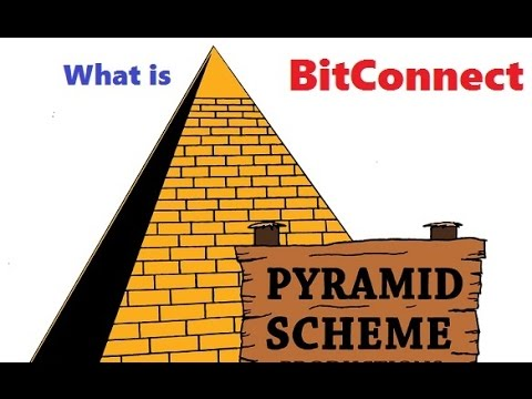 BitConnect is a pyramid scam?!?!