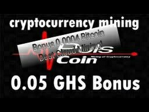 Bitcoin Cloud Mining 0.0004 Ghs=0.05 Ghs Bonus Best Cloud Mining 2017