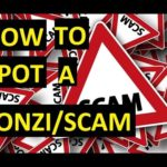 How To Detect A Scam/Ponzi Before Investing! Useful Tips!