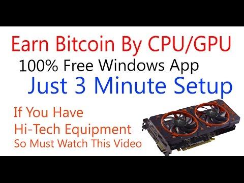 Earn Unlimited Bitcoin |Bit Miner| Earn Bitcoin From Mining - CPU/GPU Bitcoin Mining