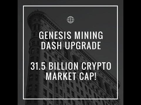 Genesis Mining Daily Upgrade - 31.5 Billion Crypto Market Cap!