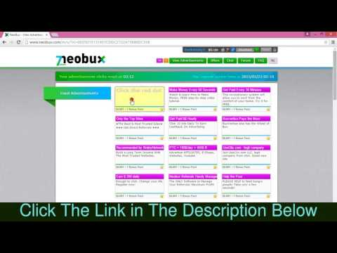 Make money online with Neobux in Hindi हिंदी में (Full Guide)