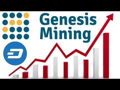 Genesis Mining| Dash X11 to 100$ and above again in no time