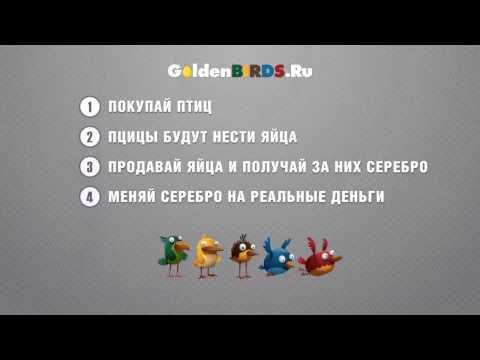 GoldenBirds   Заработок 1000 р в день !