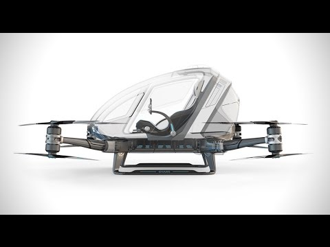 Advance of Autonomous Vehicles, Including Flying Passenger Drones, Threatens Countless Jobs