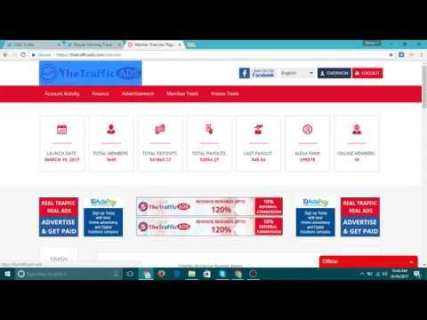 thetrafficads not scam TTA (thetrafficads) in Earn Money Online (day 25)