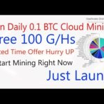 Earn Daily 0.1 Btc | vixice | Earn Bitcoin From Cloud Mining – Free Bitcoin Mining Power 100 Gh/s