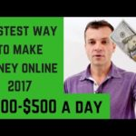 Best way to make money online 2017 | $300-$500 a day without any experience!