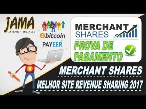 Merchant Shares - Pagamento ao vivo e desmentindo os boatos de scam.