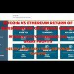 BITCOIN VS ETHEREUM ROI GENESIS MINING. GREAT PROFITS. USE MY CODE AND I WILL USE YOURS.