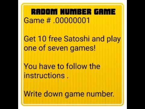 .00000001 | Free Bitcoin I Random Number Winner | Scam? Or Legit? | Earn 50× Your Bitcoin| Day #1