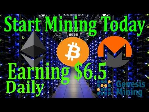 Start Mining Bitcoin!!Earning Daily $6.5 fully automatic
