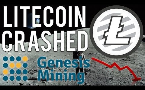 Litecoin Crashed But Recovered… (Genesis Mining Bitcoin Upgrade)