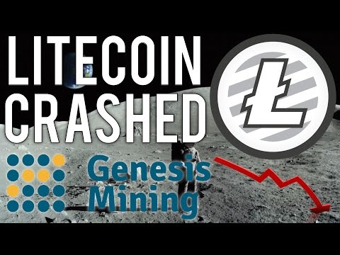 Litecoin Crashed But Recovered... (Genesis Mining Bitcoin Upgrade)