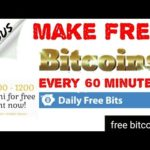 Make free Bitcoin/free Bitcoin mining for free//earn free Bitcoin every 60 minutes (in Hindi)