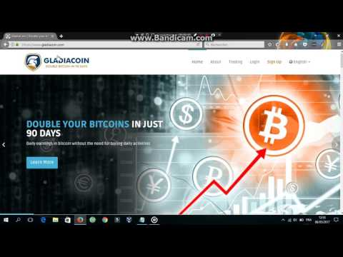 gladiacoin launched GRADIACOIN to double bitcoin in 30 hours