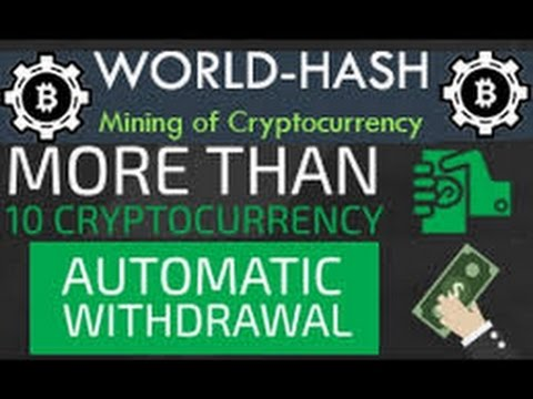 Mining Bitcoin With World-Hash (cloud mining) 2017 new-updates!