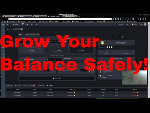 Bitsler Method - How To Keep Growing Your Balance Safely