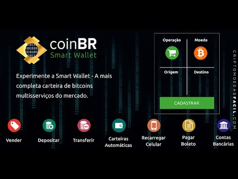coinBR - A CARTEIRA BITCOIN 90% LIVRE DE TAXA