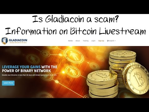 Is Gladiacoin a Ponzi Scheme Scam? Information on Bitcoin