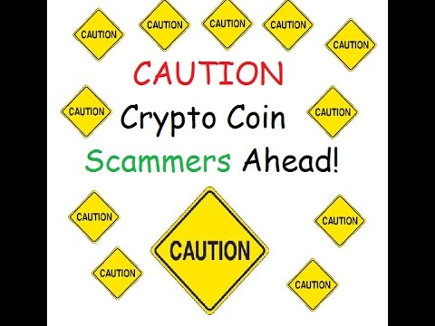 Caution   Crypto Coin Phishing Scams