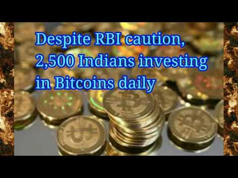 SharpTuber News: Despite RBI caution, 2,500 Indians investing in Bitcoins daily