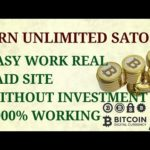 how to earn unlimited satoshi real way no scam