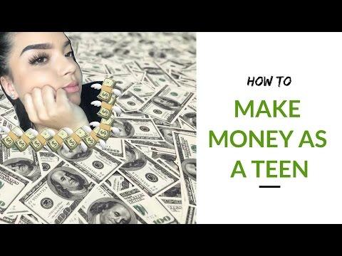 HOW TO MAKE MONEY ONLINE AS A TEEN! | iamcat