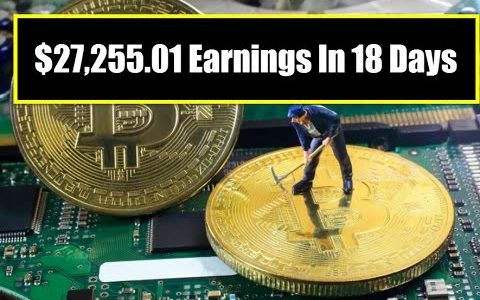 "$27,255.01 Earnings In 18 Days  ""Bitcoin News"""