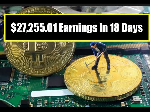$27,255.01 Earnings In 18 Days