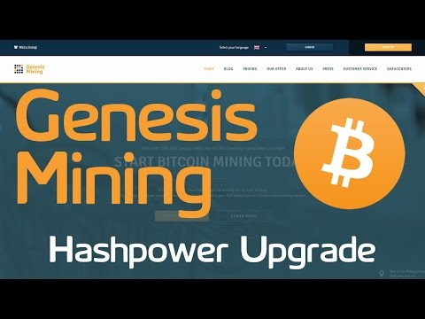 Genesis Mining | Bitcoin Hashpower Upgrade