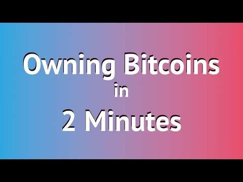Owning Bitcoins In 2 Minutes