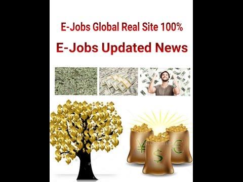 E-Jobs Updated News E-Jobs 100% Real Site payment 100% Bitcoin