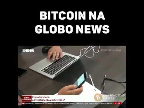 Bitcoin na Globo News , como dobrar seus bitcoins !