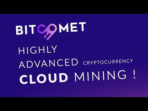 CRYPTOCURRENCY CLOUD MINING BITCOIN BitComet Ltd bitcomet.biz