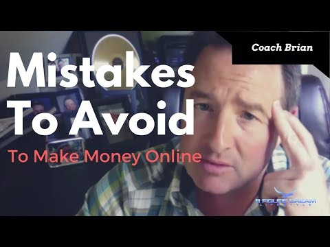 How To Make Money Online - 3 Mistakes To Avoid