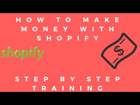 Make Money Online From Home (Shopify) #45