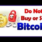 Do Not Buy or Sell Bitcoin For sometime & Do not panic