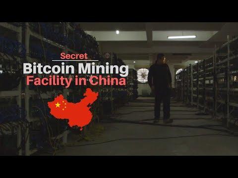 Secret Bitcoin Mining Facility in China (2017)
