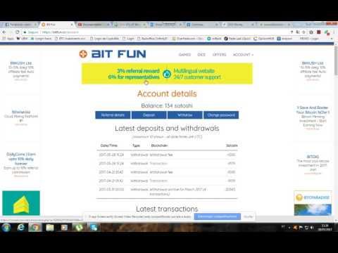 Prova De Pagamento Bit Fun, Sites Scam Confira