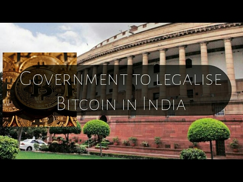 Bitcoin to get legalise in india | good news for miners
