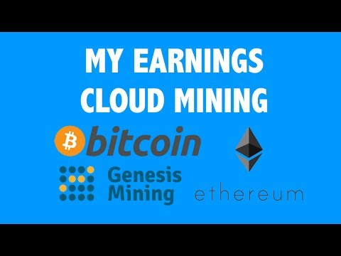 My Earnings Cloud Mining Ethereum & Bitcoin