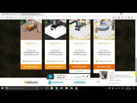 BTCProMiner   Bitcoin mining  Earn Bitcoin for free - Minage Bitcoin gratuit