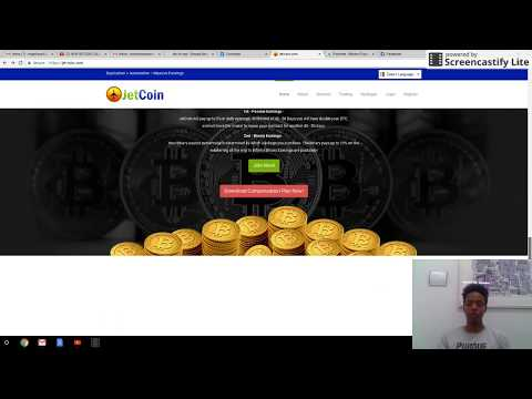 JetCoin  Review Double your Bitcoin in 40 Days  Join now (No Scam)