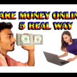 5 Real Ways to Actually Make Money Online [HIndi]