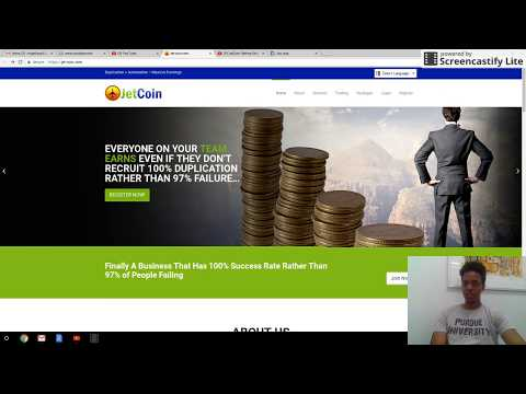 JetCoin (Day 1) Double Your Bitcoin in 40 days (No Scam)