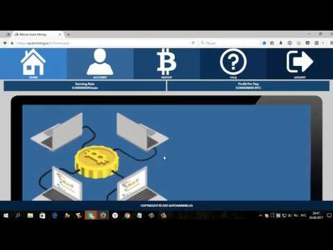 Bitcoin Auto Mining  БЕЗ ВЛОЖЕНИЙ