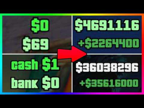 GTA 5 Online Money Fast: