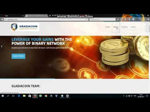 double bitcoin from gradiacoin in 30 hours